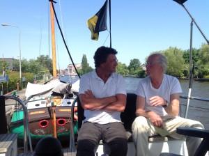 Douwe Visser en Kris Heijnis